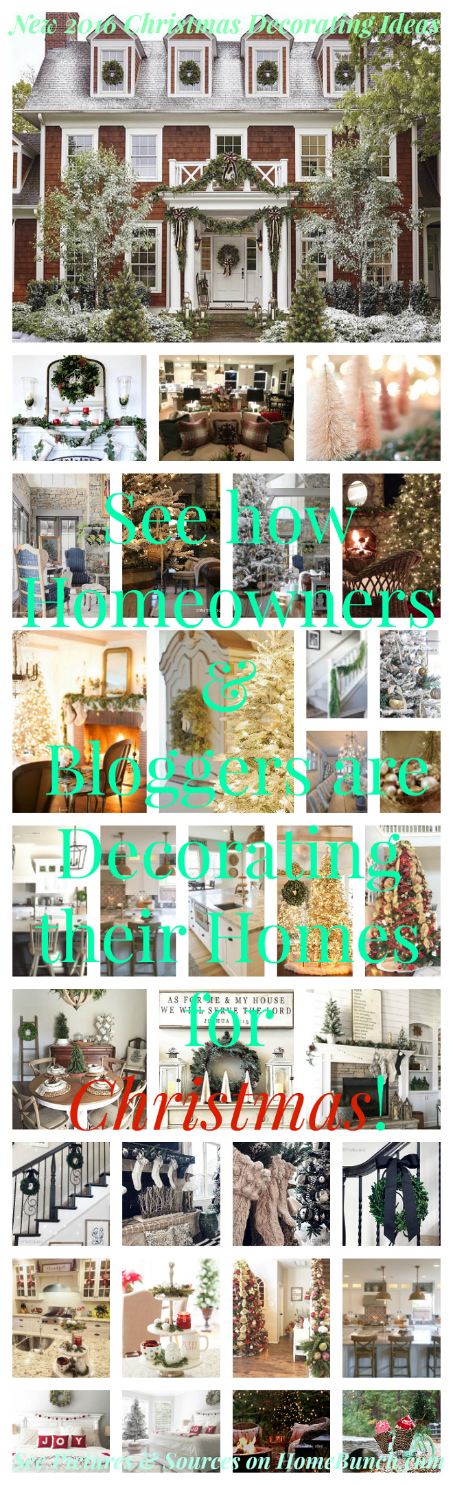 .New 2016 Christmas Decorating Ideas. New 2016 Christmas Decorating Ideas from homeowners, bloggers and from instagram. New 2016 Christmas Decorating Ideas #New2016ChristmasDecoratingIdeas #2016ChristmasDecoratingIdeas #NewChristmasDecoratingIdeas #ChristmasDecoratingIdeas #ChristmasDecoratingIdeas #ChristmasDecor #ChristmasDecorIdeas