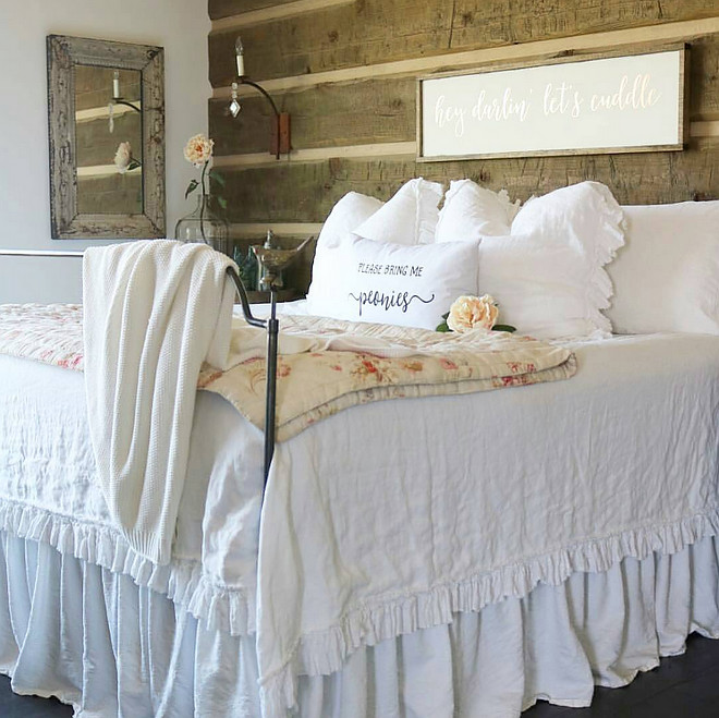 Rustic Bedroom. Rustic Bedroom. Rustic Bedroom. Rustic Bedroom Decor. Rustic Bedroom ideas. Rustic Bedroom Accessories @birdie_farm via Instagram #RusticBedroom