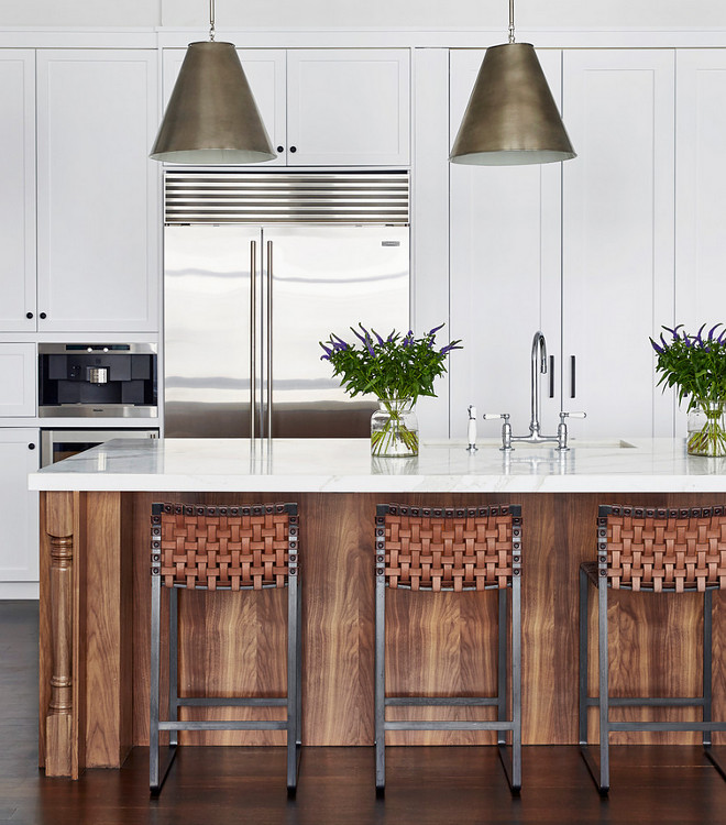 Walnut Kitchen Island. Walnut Kitchen Island stain color. Walnut Kitchen Island. Walnut Kitchen Island #WalnutKitchen #WalnutKitchenIsland Chango & Co. Jacob Snavely Photography