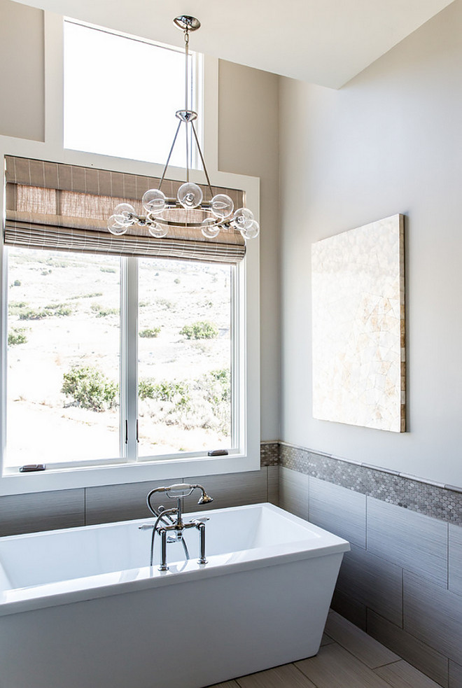 Bathroom Lighting. Bathroom tub chandelier. Bathroom Lighting. Bathroom tub chandelier ideas #Bathroom #Lighting #Bathroom #tubchandelier Timberidge Custom Homes