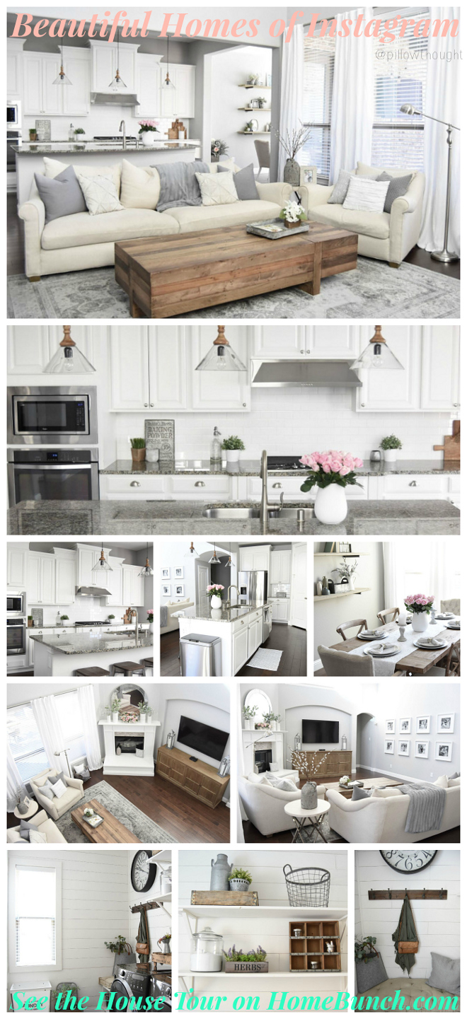 Beautiful Homes of Instagram. Farmhouse style Home. Beautiful Homes of Instagram #BeautifulHomesofInstagram #BeautifulHomesof #Instagram #Farmhouse