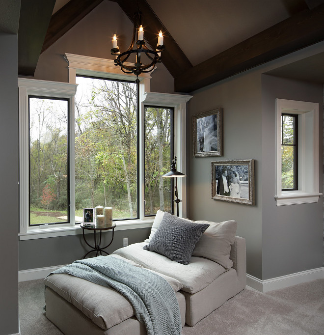Bedroom nook. Bedroom nook. This bedroom nook makes a perfect seating area. Master bedroom nook. #Bedroomnook #Bedroom #nook #perfectseatingarea #seatingarea #seatingareanook #Masterbedroomnook Barrington Homes Inc.