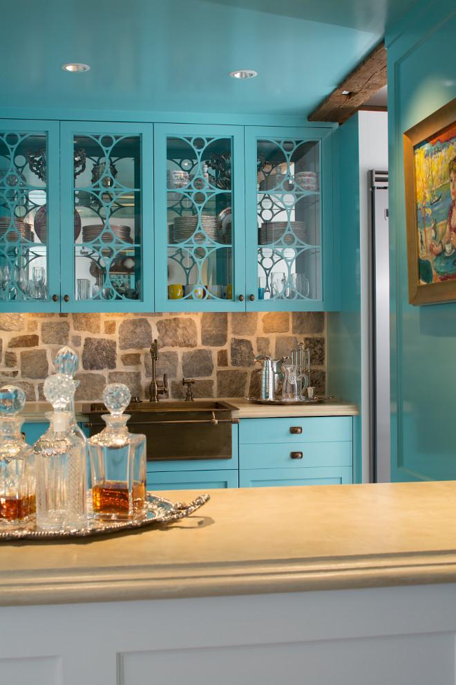 Benjamin Moore 2049-50 Spectra Blue. Turquoise cabinet paint color Benjamin Moore 2049-50 Spectra Blue. Benjamin Moore Turquoise paint color Benjamin Moore 2049-50 Spectra Blue. #BenjaminMoore204950SpectraBlue #BenjaminMooreSpectraBlue Bayview Builders LLC