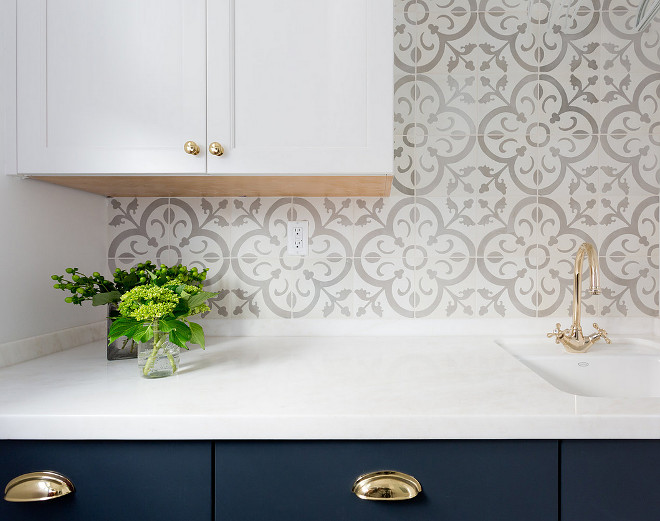 Cement Backsplash Tile. Cement Backsplash Tile Source. Cement Backsplash Tile is from Granada Tile. #CementTile #backsplash #CementTileBacksplash Denton Developments