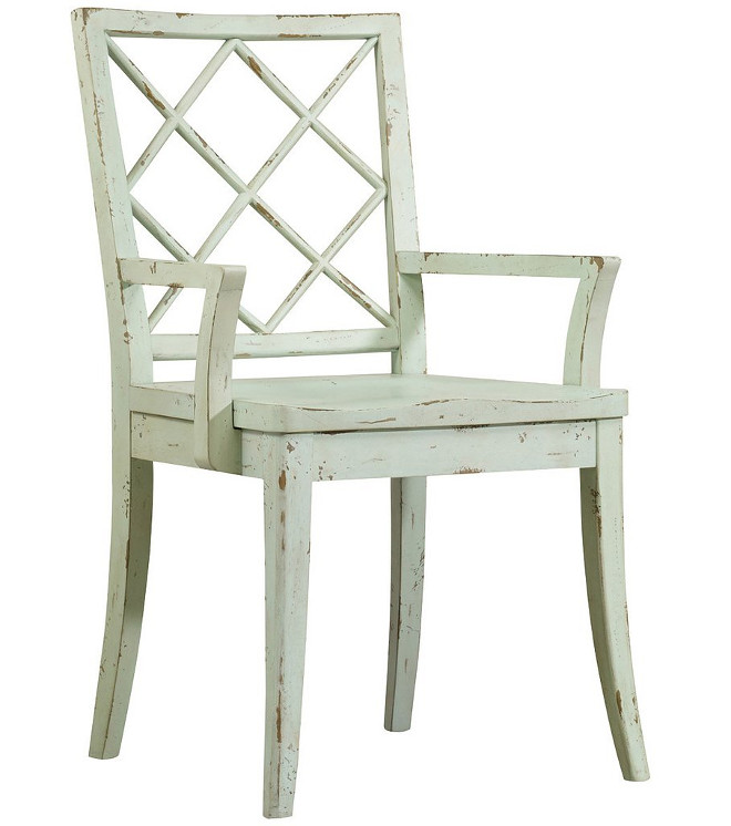 Distressed Dining Chair. Distressed Dining Chair Dining Chair: Hooker Furniture Sunset Point X Back Arm Chair Set of 2 - $ #DistressedDiningChair #DistressedChair