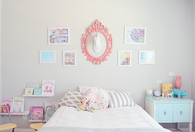 Girl Bedroom decor. Girl Bedroom decor #GirlBedroomdecor Home Bunch's Beautiful Homes of Instagram Pillow Thought
