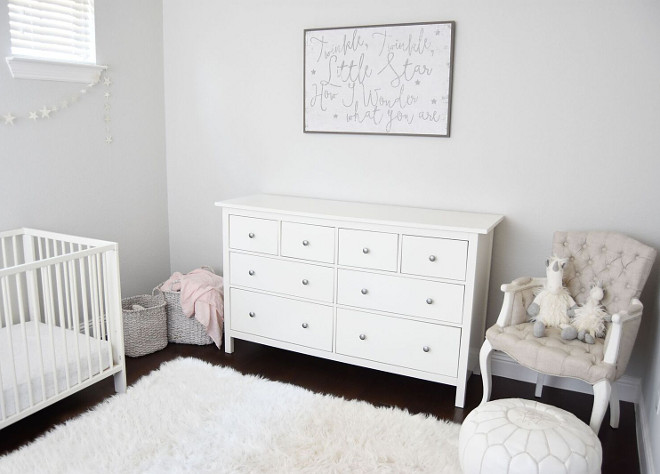 Grey Nursery Paint Color. Repose Gray at Half tint by Sherwin Williams. Grey Nursery Paint Color. Repose Gray at Half tint by Sherwin Williams. #ReposeGraybySherwinWilliams #ReposeGraySherwinWilliams Pillow Thought