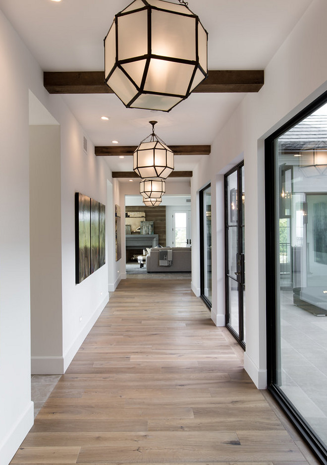 Hall Lighting. Repeating Lights Down And Expansive Hallway Is A Great Way  To Showcase The. Renovating Your House In 2017?