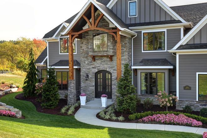 Home exterior. Home exterior and garden. Homes and Garden Ideas. #Homeexterior #Homeexteriors #garden #HomesIdeas #GardenIdeas