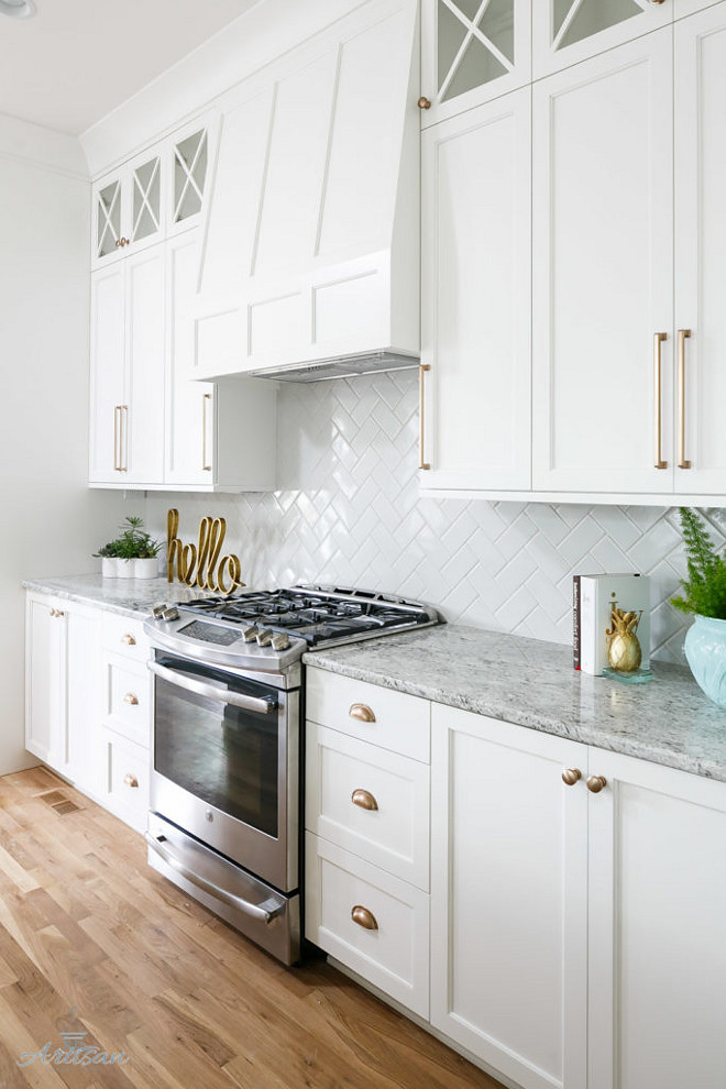 Inset cabinets. Kitchen Inset cabinets. Kitchen Inset cabinets and Inset Hood. Inset cabinets. Kitchen Inset cabinets. Kitchen Inset cabinets, Inset Hood and herringbone subway backsplash tile. #KitchenInsetcabinets #Insetcabinets #InsetHood #herringbone #herringbonesubwaybacksplashtile Artisan Signature Homes.  Interiors by Gretchen Black