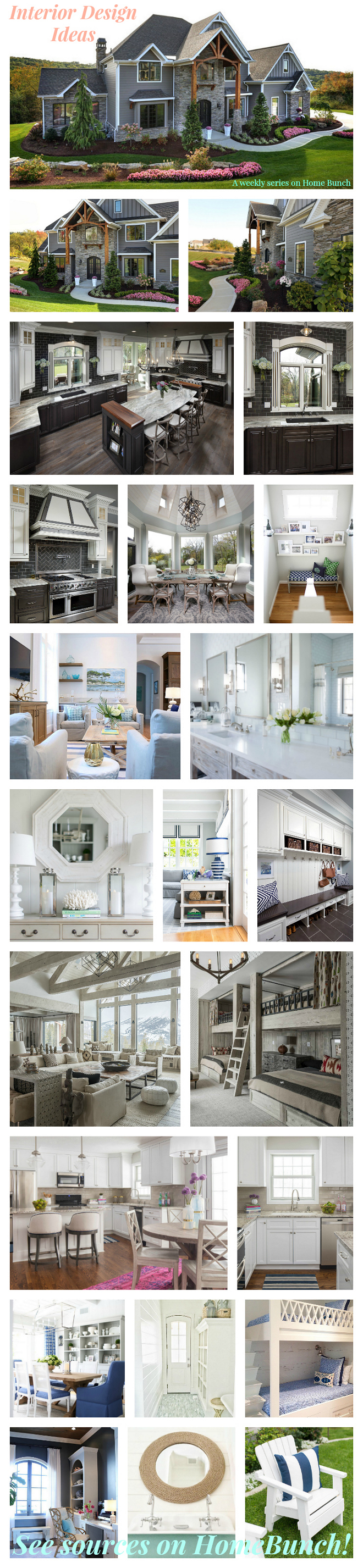 Interior Design Ideas Weekly Series With The