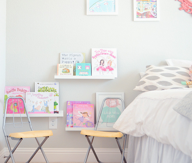 Kids Bedroom Bookshelves. Kids Bedroom Bookshelf ideas. Kids Bedroom Bookshelves. Kids Bedroom Floating Bookshelves #KidsBedroomBookshelves #BedroomBookshelves #FloatingBookshelves Pillow Thought Home