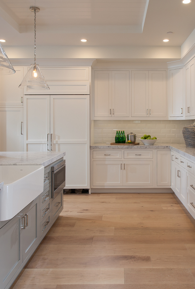 kitchen wood floor cape cod california house with blue and white 3507