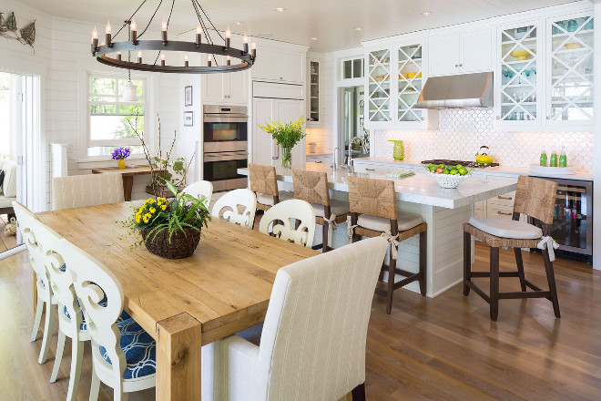 Kitchen layout. Kitchen and dining area layout. Kitchen layout. Kitchen and dining area layout ideas #Kitchenlayout #Kitchen #diningarea #layout Sharratt Design & Company