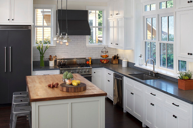 Kitchen with Matte Appliances. Kitchen with Matte Appliances #Kitchen #MatteAppliances Artistic Designs for Living, Tineke Triggs
