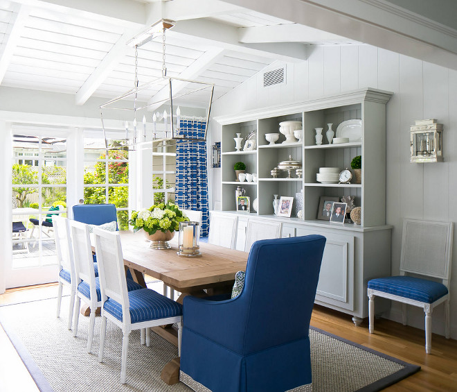 Blue Dining Room Decoration: Category: Coastal Decor