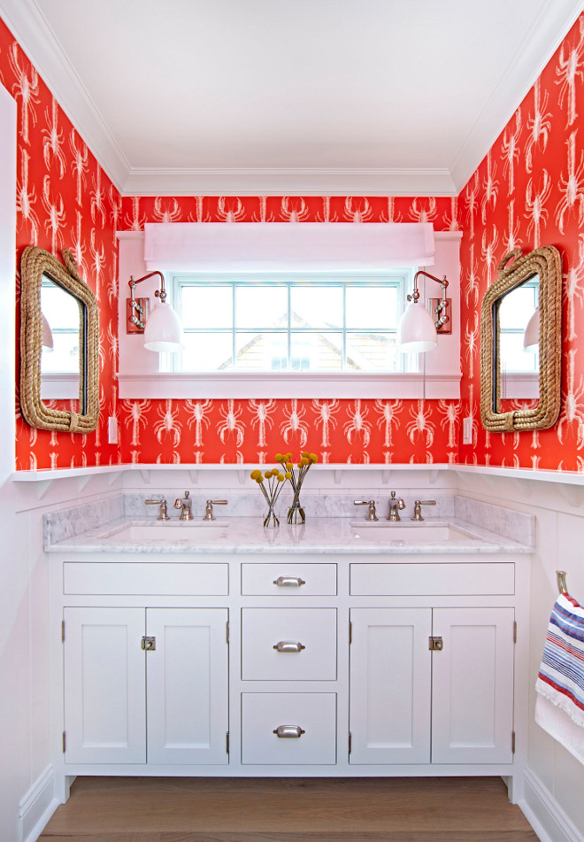 Lobster Wallpaper. Lobster Wallpaper Lobby Abnormals Anonymous. The lobster wallpaper is Lobby from Abnormals Anonymous. #LobsterWallpaper #Lobby #AbnormalsAnonymous. Why not bring some fun into your home? This wallpaper is perfect for this space! The lobster wallpaper is Lobby from Abnormals Anonymous. #LobsterWallpaper Chango & Co.