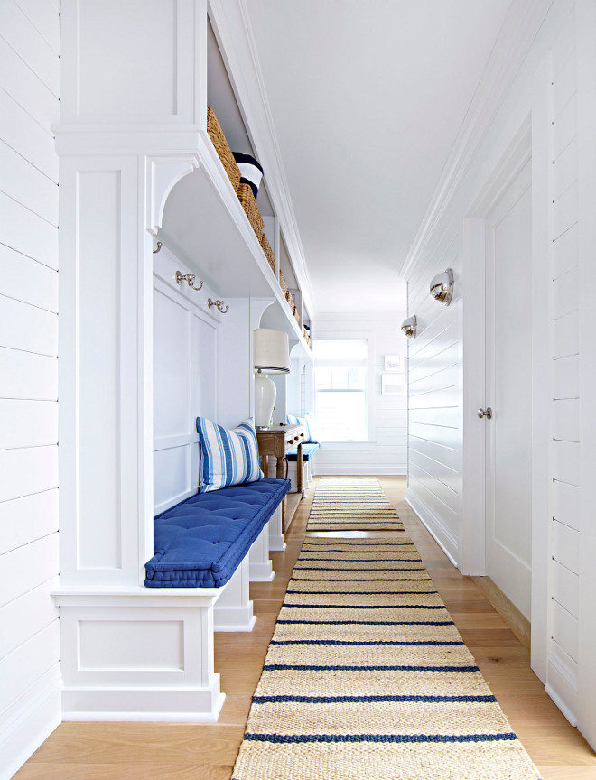 Mudroom Runner. Mudroom Runners. Natural Mudroom Runner ideas. Sisal Runners. Nourison Paradise Garden Indigo Sisal Runner - Overstock Mudroom Runner #Mudroom #Runner #MudroomRunner #MudroomRunners Chango & Co.