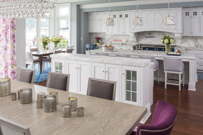 Open Kitchen and dining room layout. Open Kitchen and dining room layout ideas. Open Kitchen and dining room layout. #OpenKitchenanddiningroom #OpenKitchenanddiningroomlayout Martha O'Hara Interiors