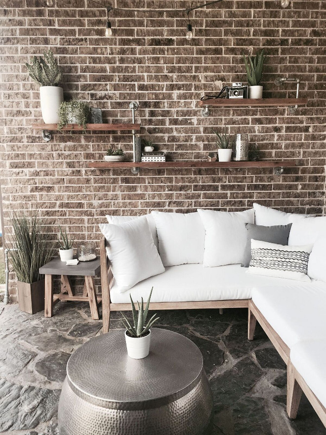 Outdoor Porch. Industrial Porch Ideas #OutdoorPorch #IndustrialPorchIdeas Farmhouse Entry Console Table. Farmhouse Entry Console Table Design. Farmhouse Entry Console Table Decor. Farmhouse Entry Console Table #FarmhouseEntry #ConsoleTable Home Bunch's Beautiful Homes of Instagram Pillow Thought