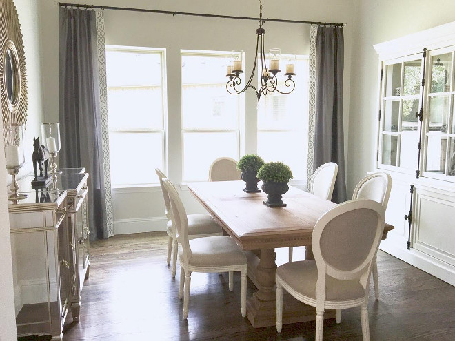 Restoration Hardware Style Dining Room The Feels Calm And Its Perfect For Entertaining