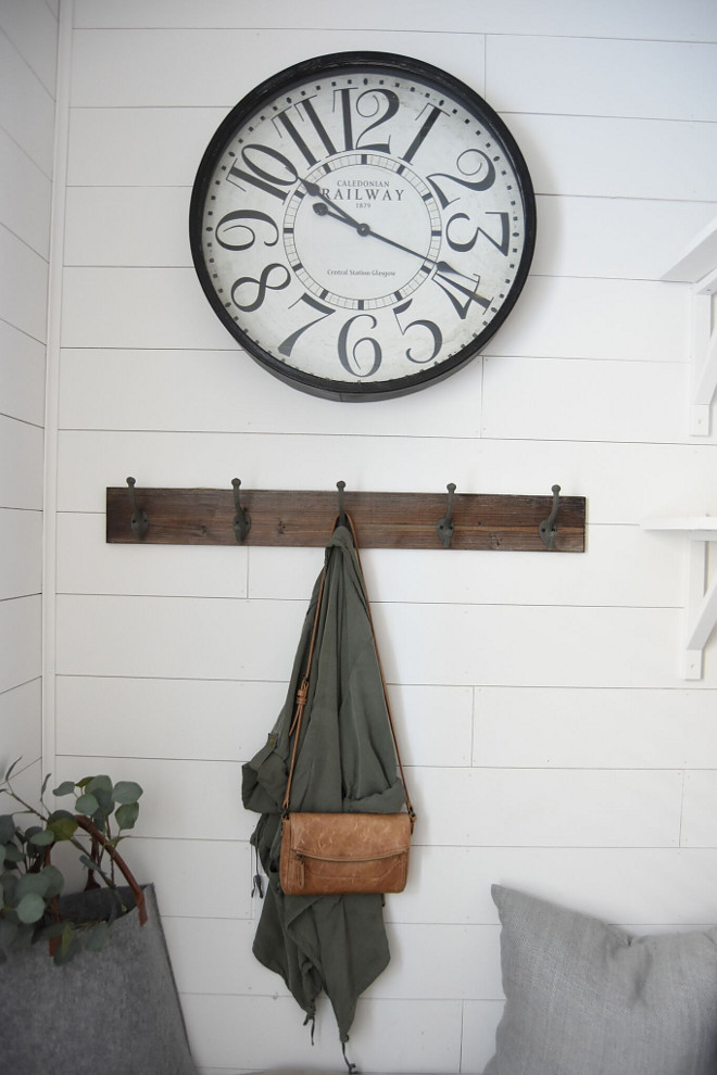 Shiplap Mudroom. Shiplap Mudroom #ShiplapMudroom #Shiplap #Mudroom Pillow Thought Home