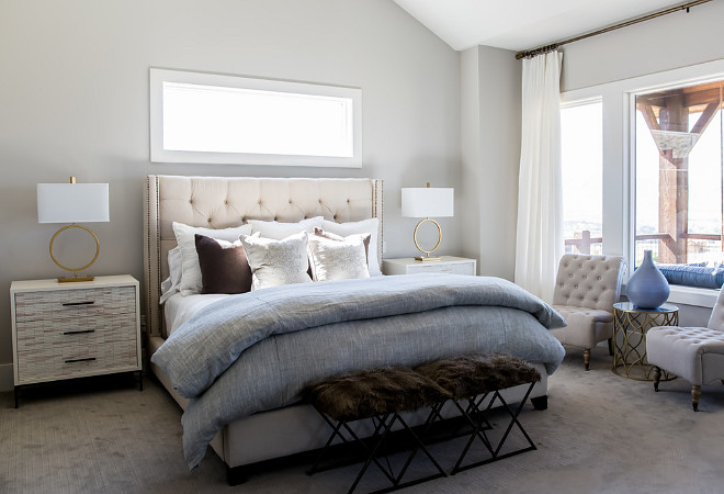 Soft Grey Paint Color Collonade Gray by Sherwin Williams. Soft Grey Paint Color Collonade Gray by Sherwin Williams #SoftGreyPaintColor #CollonadeGraybySherwinWilliams Timberidge Custom Homes