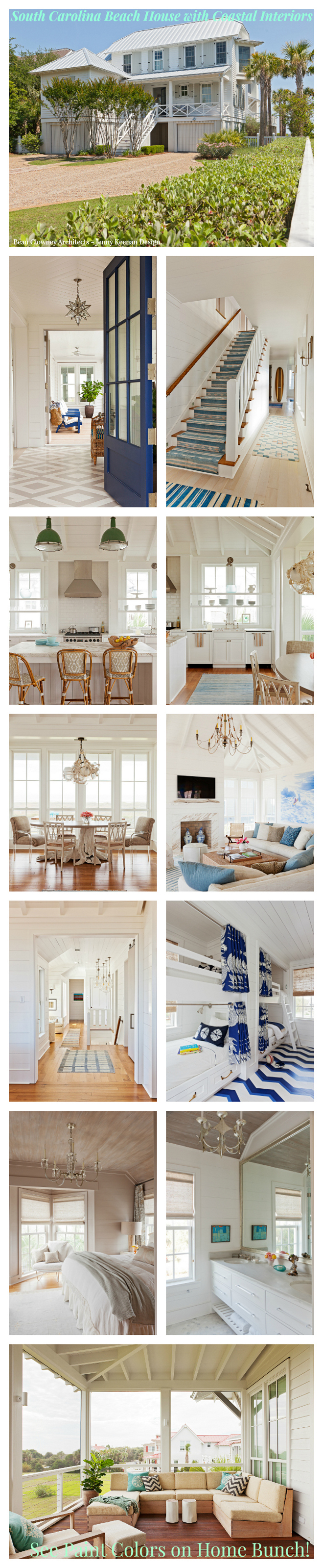 Monday: Beautiful Homes Of Instagram. South Carolina Beach House With Coastal  Interiors.
