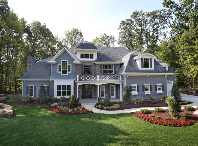 Traditional Home Exterior. Beautiful Traditional Home Exterior. Traditional Home Exterior. #TraditionalHomeExterior #HomeExterior Barrington Homes Inc.