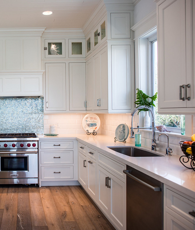 White Dove OC-17 Benjamin Moore. White inset cabinets painted in White Dove OC-17 Benjamin Moore. White Dove OC-17 Benjamin Moore paint color. Kitchen color is White Dove OC-17 Benjamin Moore #WhiteDoveOC17BenjaminMoore #OC17BenjaminMoore #WhiteDoveBenjaminMoore #WhiteDove #OC17 #BenjaminMoore Waterview Kitchens