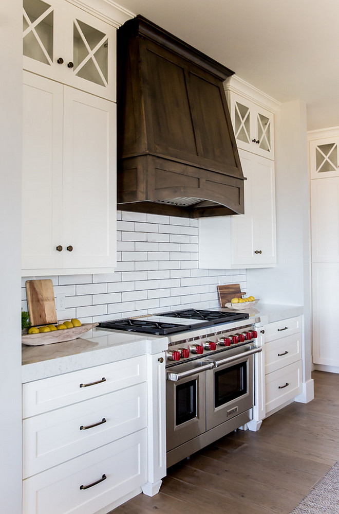 Walnut Kitchen Cabinets Farmhouse