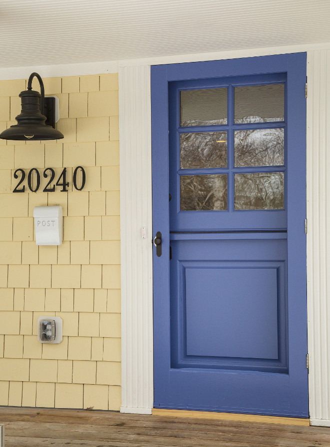 Benjamin moore front door paint colors - Exterior Paint Color Benjamin Moore Summer Harvest 206 Benjamin Moore