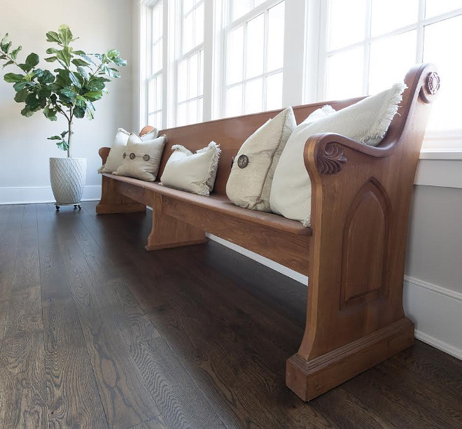 Dining room bench. Dining room bench ideas. Dining room bench #Diningroombench Beautiful Homes of Instagram @greensprucedesigns