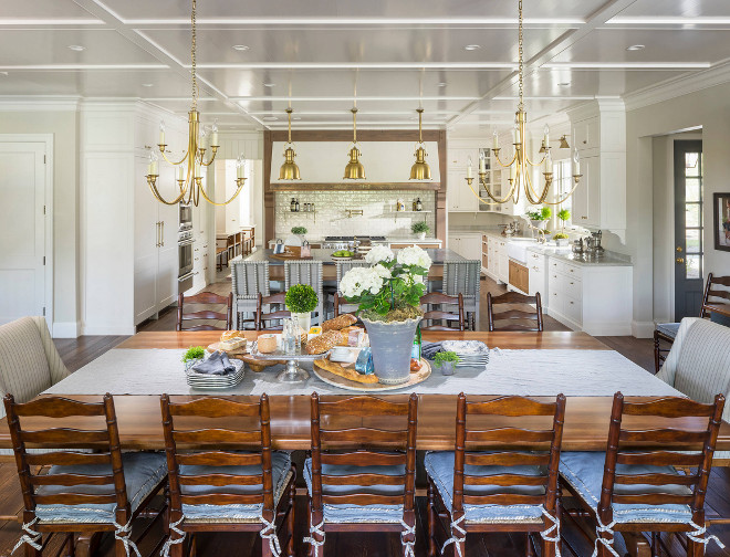 Farmhouse kitchen and open dining area. Farmhouse kitchen and open dining room. Farmhouse kitchen and open dining area. Farmhouse kitchen and open dining area #Farmhousekitchen #Farmhouse #kitchen #opendiningarea Jackson and LeRoy