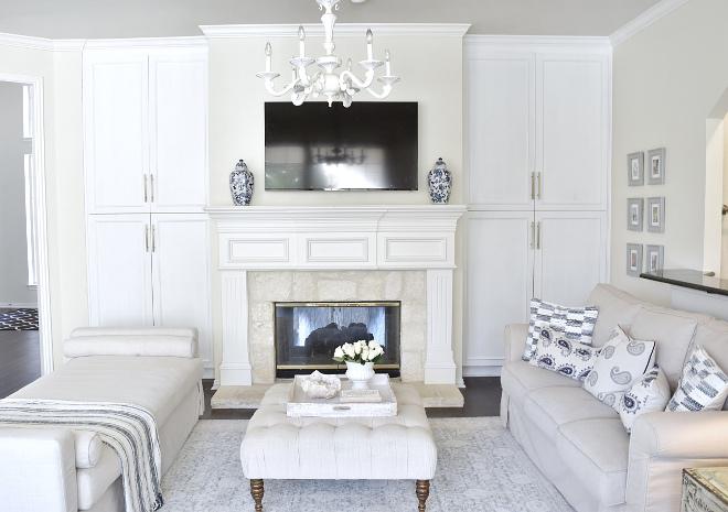 Fireplace built ins, Fireplace built ins, Fireplace built ins #Fireplacebuiltins Beautiful Homes of Instagram @thriftyniftynest