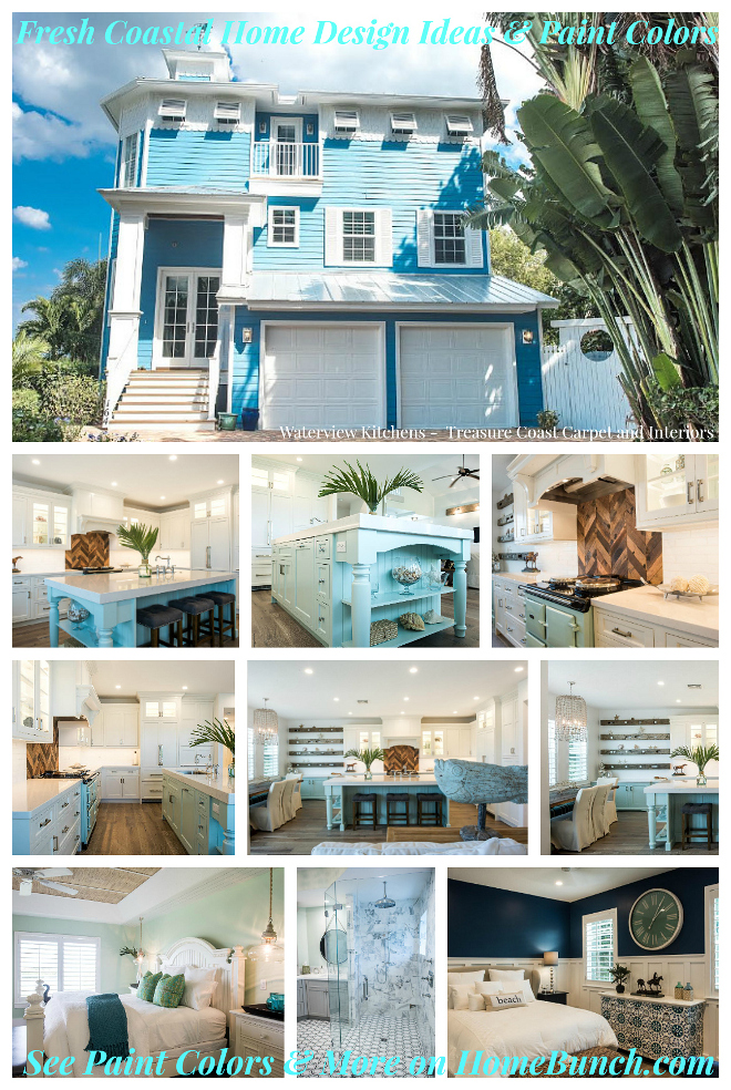 Fresh Coastal Home Design Ideas & Paint Colors. Fresh Coastal Home Design Ideas & Paint Colors. Fresh Coastal Home Design Ideas & Paint Colors