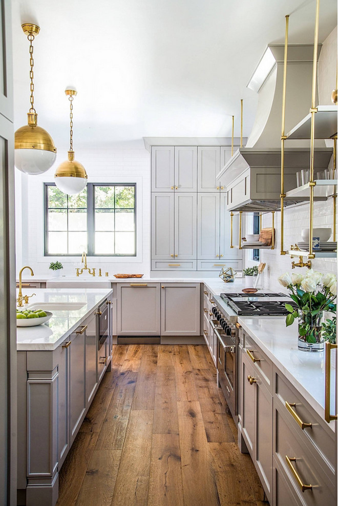 Kitchen Flooring. The floors are California Classics - Mediterranean Collection - French Oak - Color is Khaki. Kitchen hardwood flooring. Choosing hardwood floor for kitchen #kitchenflooring #kitchen #hardwoodfloor #kitchen #flooring #kitchenhardwoodflooring Boswell Construction