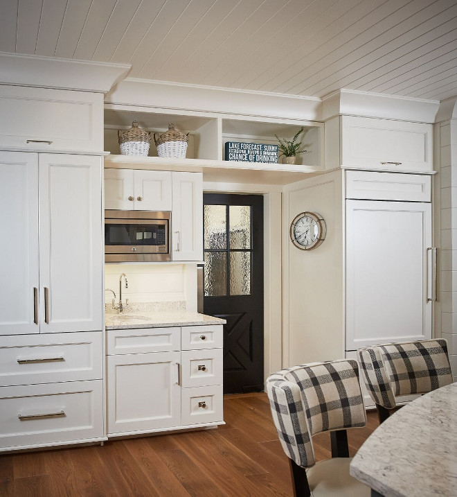 Kitchen Paneled Fridge and paneled freezer cabinet layout. Kitchen Paneled Fridge and paneled freezer cabinet layout #Kitchen #PaneledFridge #paneledfreezer #kitchencabinetlayout Dwellings