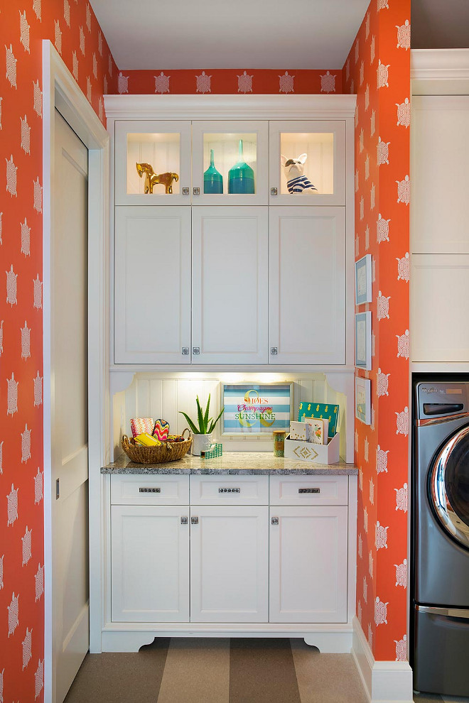 Laundry room pet feeding cabinet, Laundry room pet feeding cabinet layout, Laundry room pet feeding cabinet ideas #Laundryroom #petfeedingcabinet Lucy Interior Design