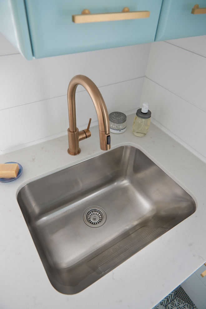 Laundry Room Stainless Steel Sink : ... Laundry / Utility Sink with Built-in Washboard in Stainless Steel