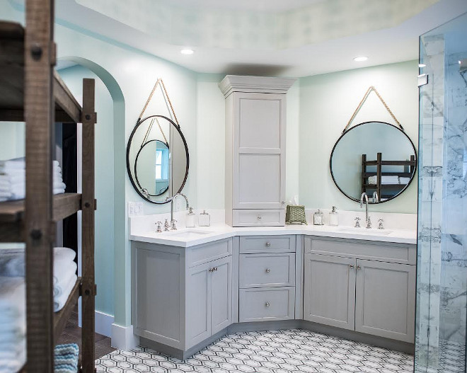 Master bathroom cabinet, Master bathroom cabinet design, Master bathroom cabinet with two sinks design, #Masterbathroomcabinet #Masterbathroomcabinetdesign #Masterbathroomcabinettwosinks Waterview Kitchens