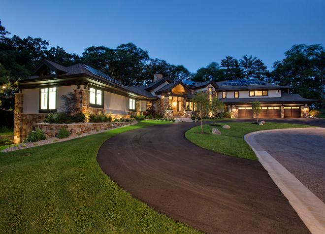 Modern Organic Home By John Kraemer Sons In Minneapolis Usa: Crisp Home Design With Modern-Organic Interiors