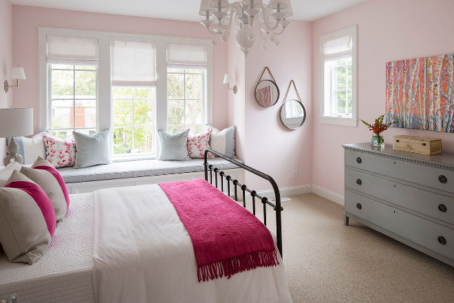 soft pink bedroom shingle style home interior design ideas home bunch 13363