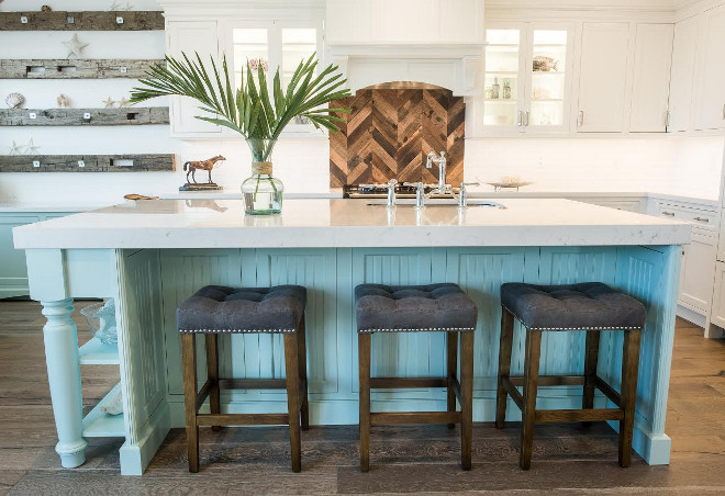 Robin's Egg Blue Kitchen Island. Robin's Egg Blue Kitchen Island Paint Color, Robin's Egg Blue Kitchen Island Ideas. Robin's Egg Blue Kitchen Island #RobinsEggBlue #KitchenIsland #RobinsEggBluePaintcolor #RobinsEggBlueisland #RobinsEggBluekitchen #RobinsEggBluekitchenisland Waterview Kitchens