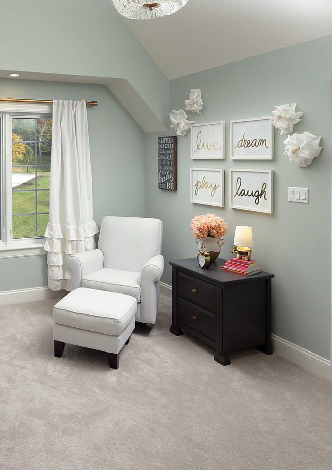 Sea Green Master Bedroom