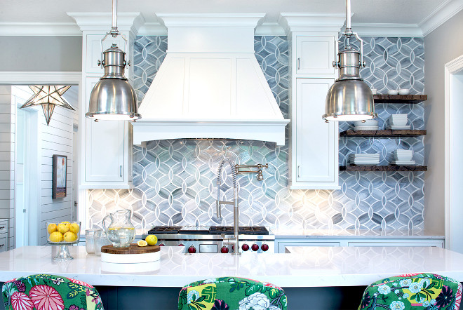 Stone Backsplash Tile, Kitchen Stone Backsplash Tile Ann Sacks Beau Monde Glass #StoneBacksplashTile #StoneBacksplash #BacksplashTile #AnnSacks #BeauMondeGlass Grace Hill Design