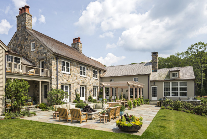 7 Decorating Tips for Backyard Patios or Outdoor Terraces ... on Farmhouse Backyard Patio id=53236