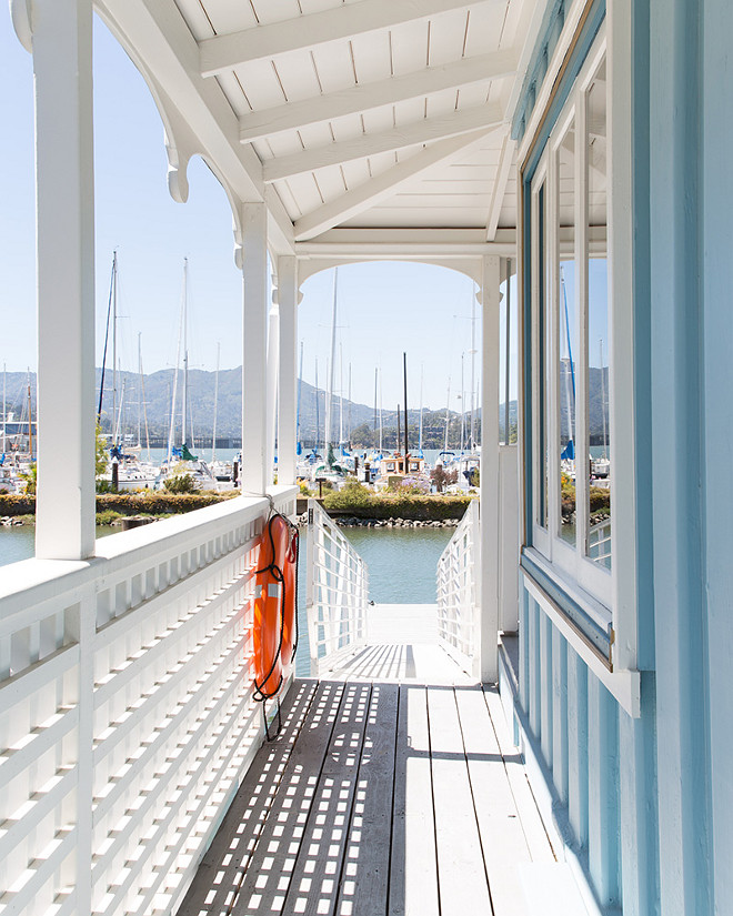 Turquoise Beach Cottage. Turquoise Beach Cottage Porch. Turquoise Beach Cottage #TurquoiseBeachCottage #TurquoiseCottage #porch Nest Design Co., Inc.
