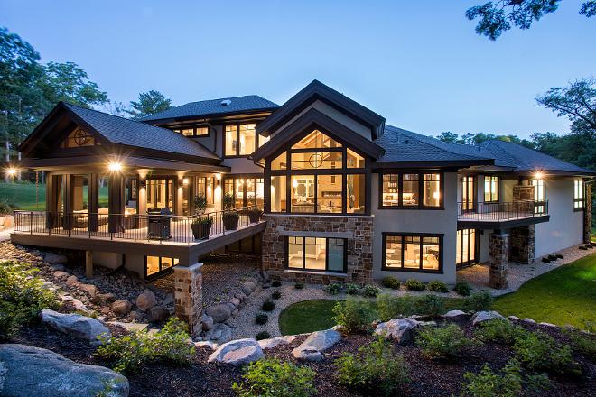 Crisp Home Design with Modern-Organic Interiors - Home ...