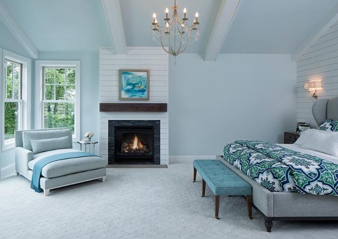 Whispering Spring 2136 70 Benjamin Moore Blue Bedroom Paint Color